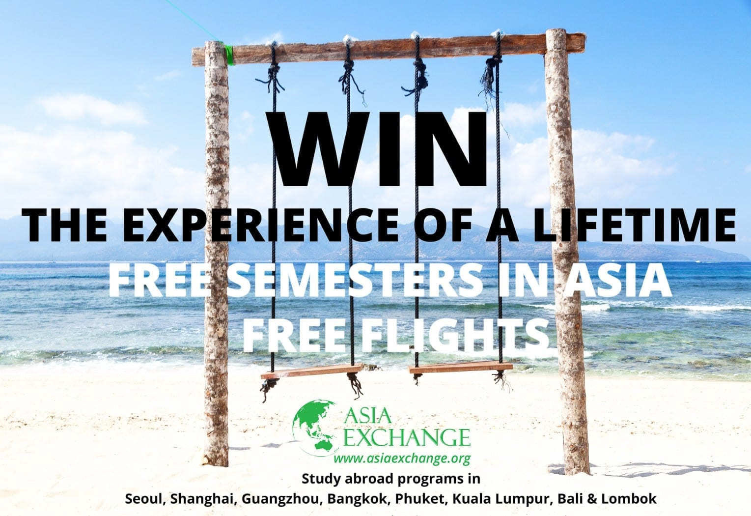 Win a Semester Abroad with Flights!