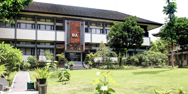 BIPAS Building at Udayana University in Bali