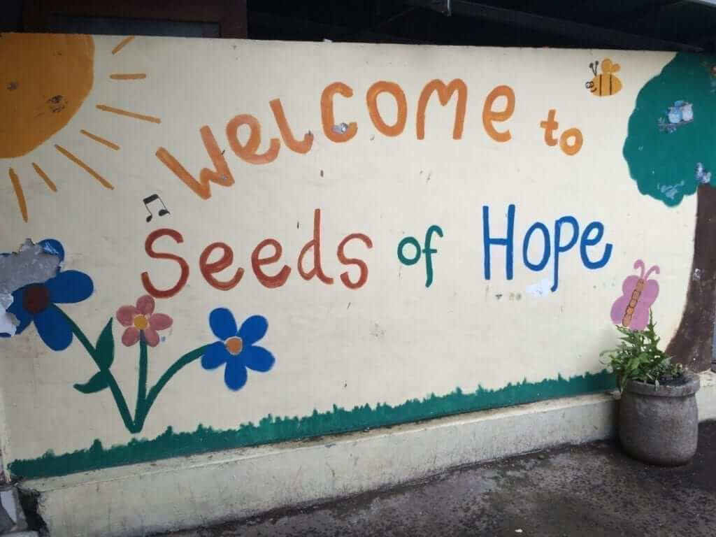 seeds of hope welcome signs