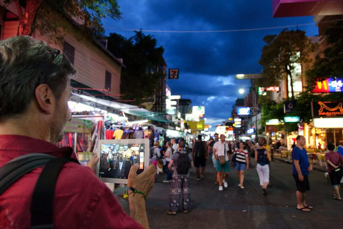 Khao San road, one of recommended destination to visit in Thailand