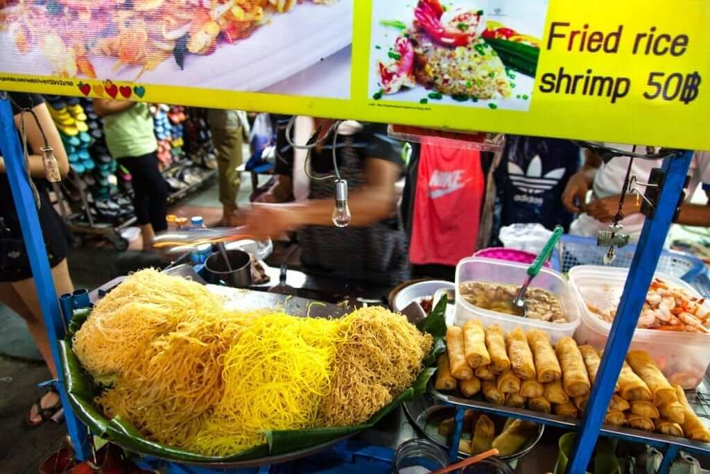 delicious and cheap street food