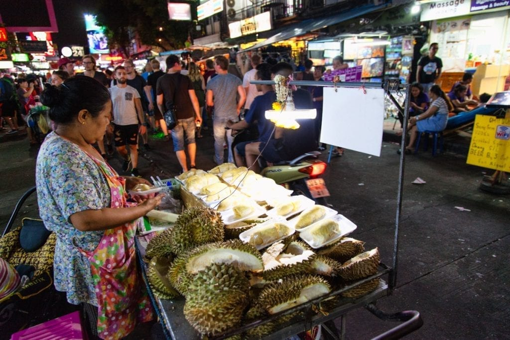 you should try fantastic fruit Durian in Thailand