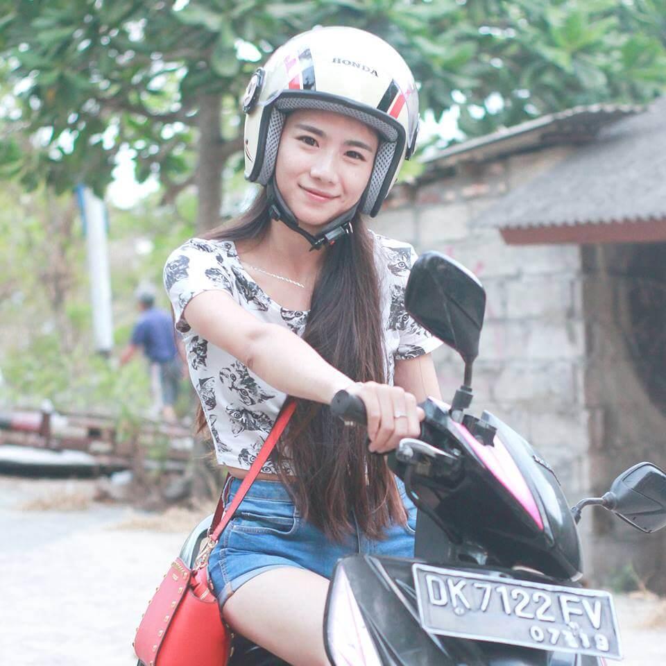 always wear a helmet wherever you go