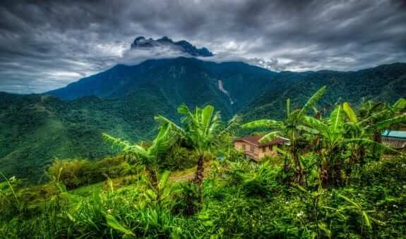 Borneo, one of largest island in Asia with its beauty