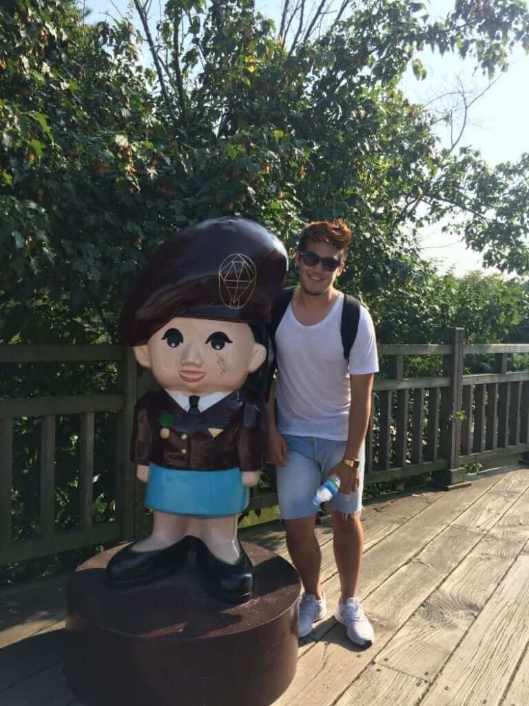 Asia Exchange Student happy to live in Seoul