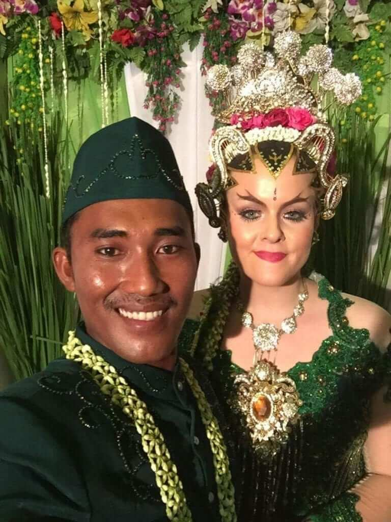 marriage culture of Java, Indonesia