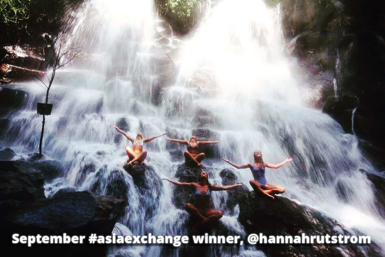 First #asiaexchange Instagram contest winner!