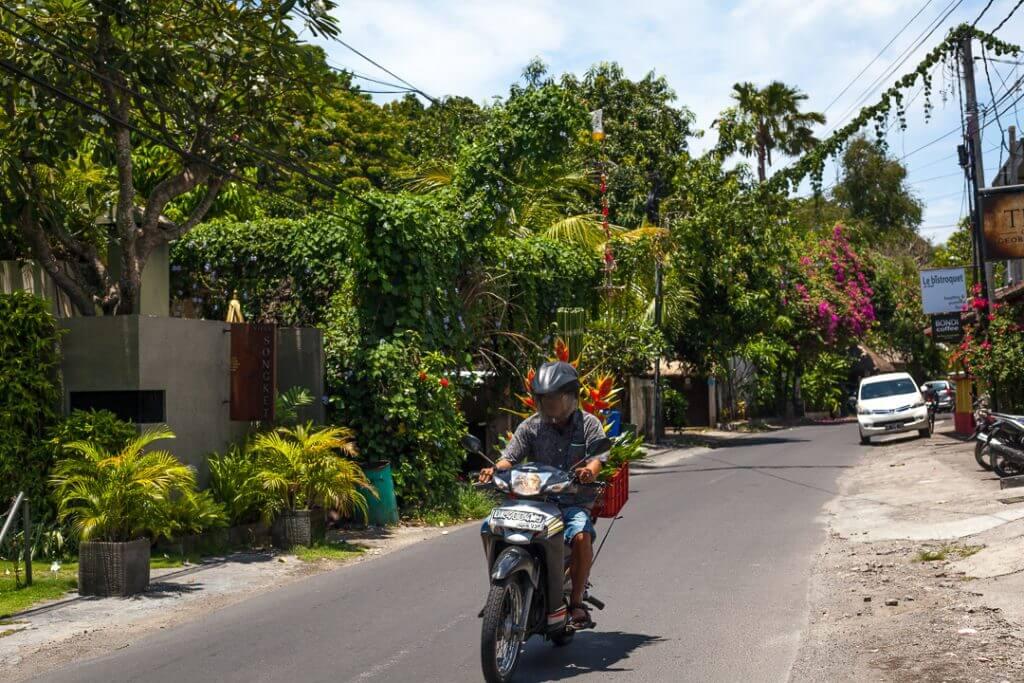 Kerobokan, Umalas. Popular area for expats to live