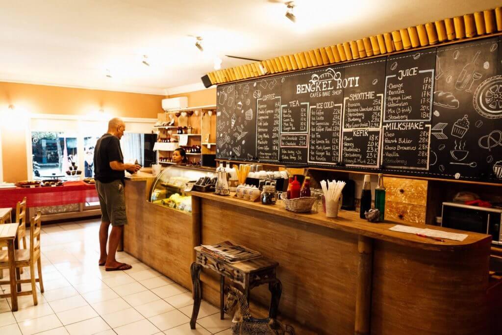 Restaurant cafe in Jimbaran