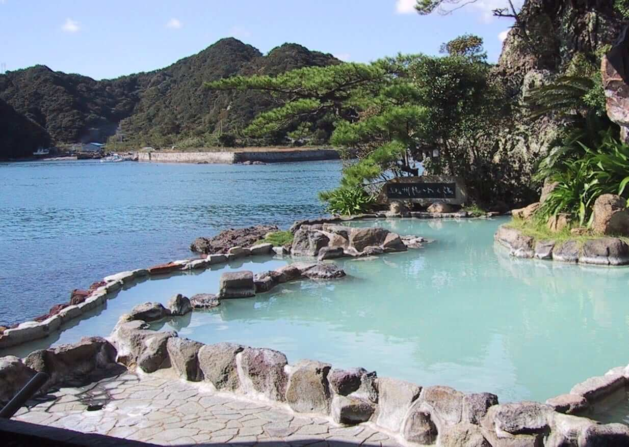 nature-japan-hot spring-bath
