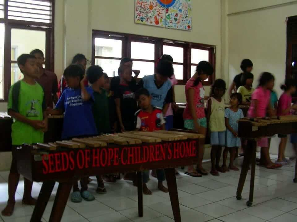 Seeds of hope visit by Asia Exchange