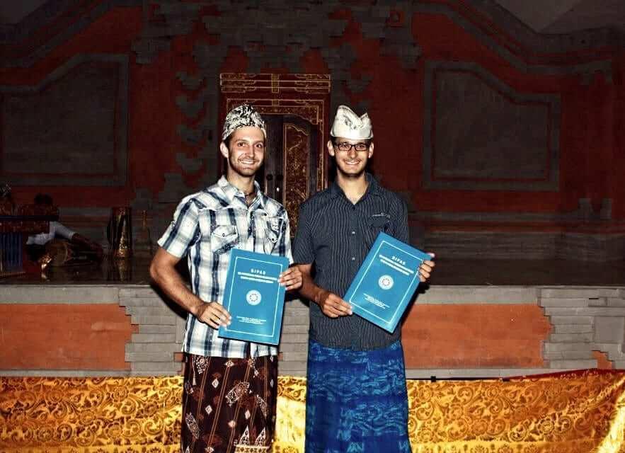 Graduation ceremony at Udayana University in Bali