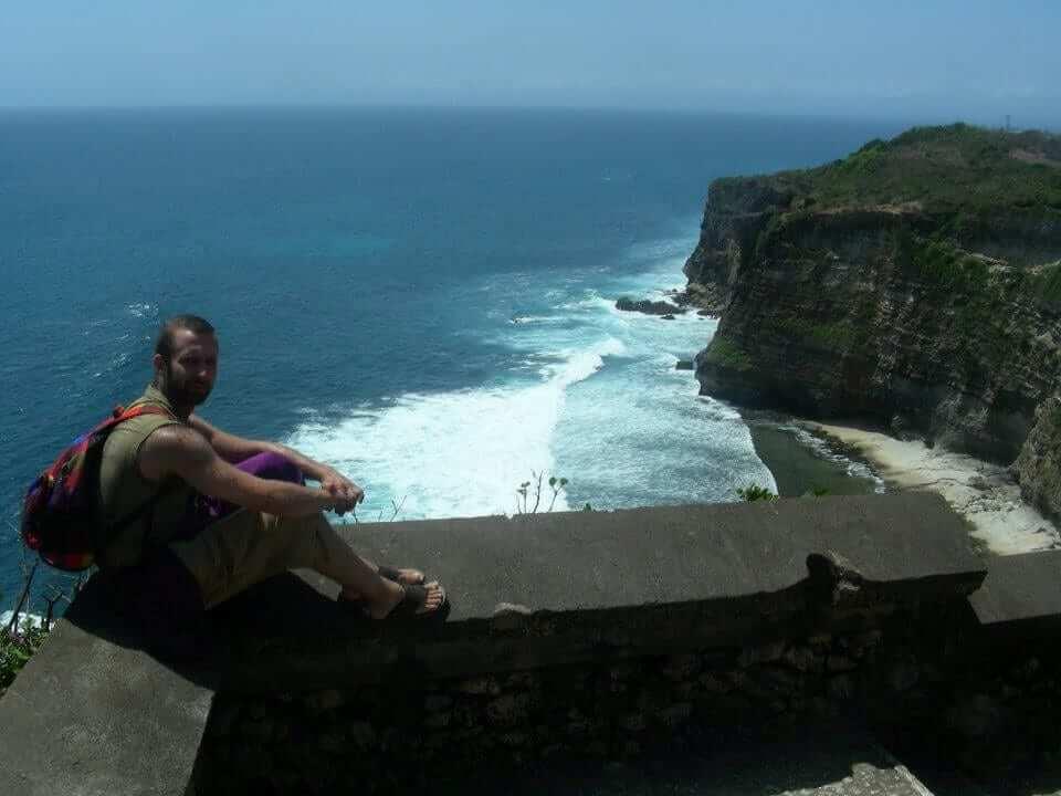 bali seaside cliffs