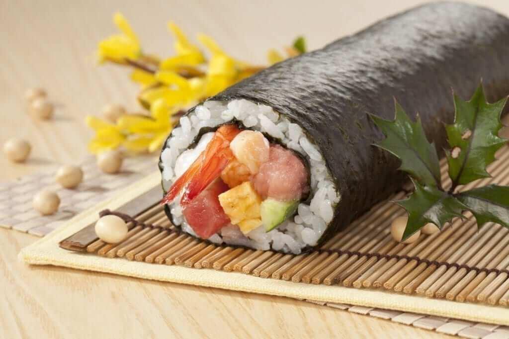 eho-maki setsubun japan