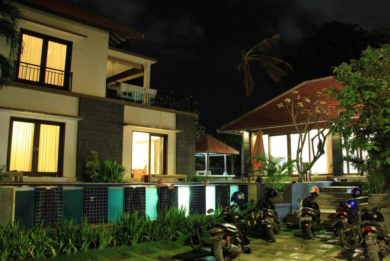 one of accomodation in bali