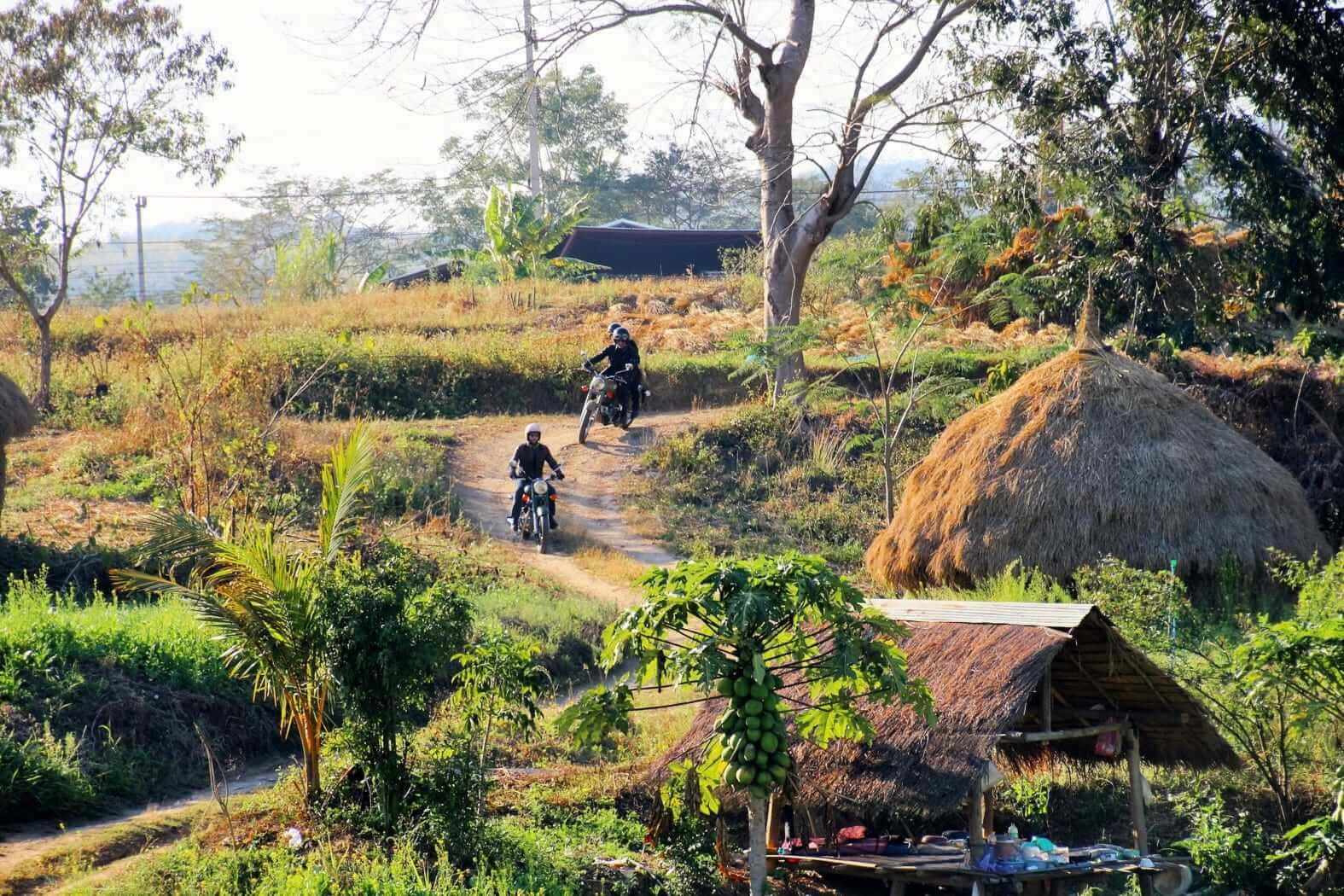 Ride a vintage bike through Thailand? Why not!