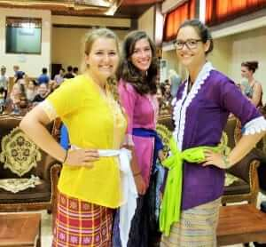 balinese traditional clothes have many variety colors