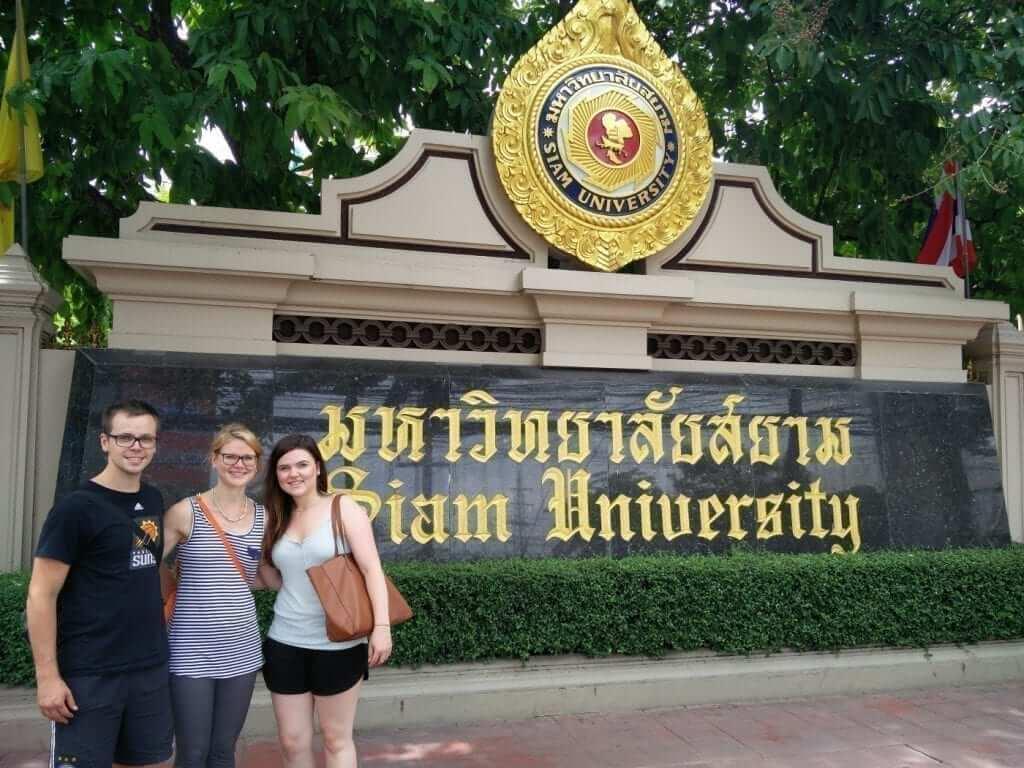 study abroad in Bangkok, Thailand - international students at Siam University