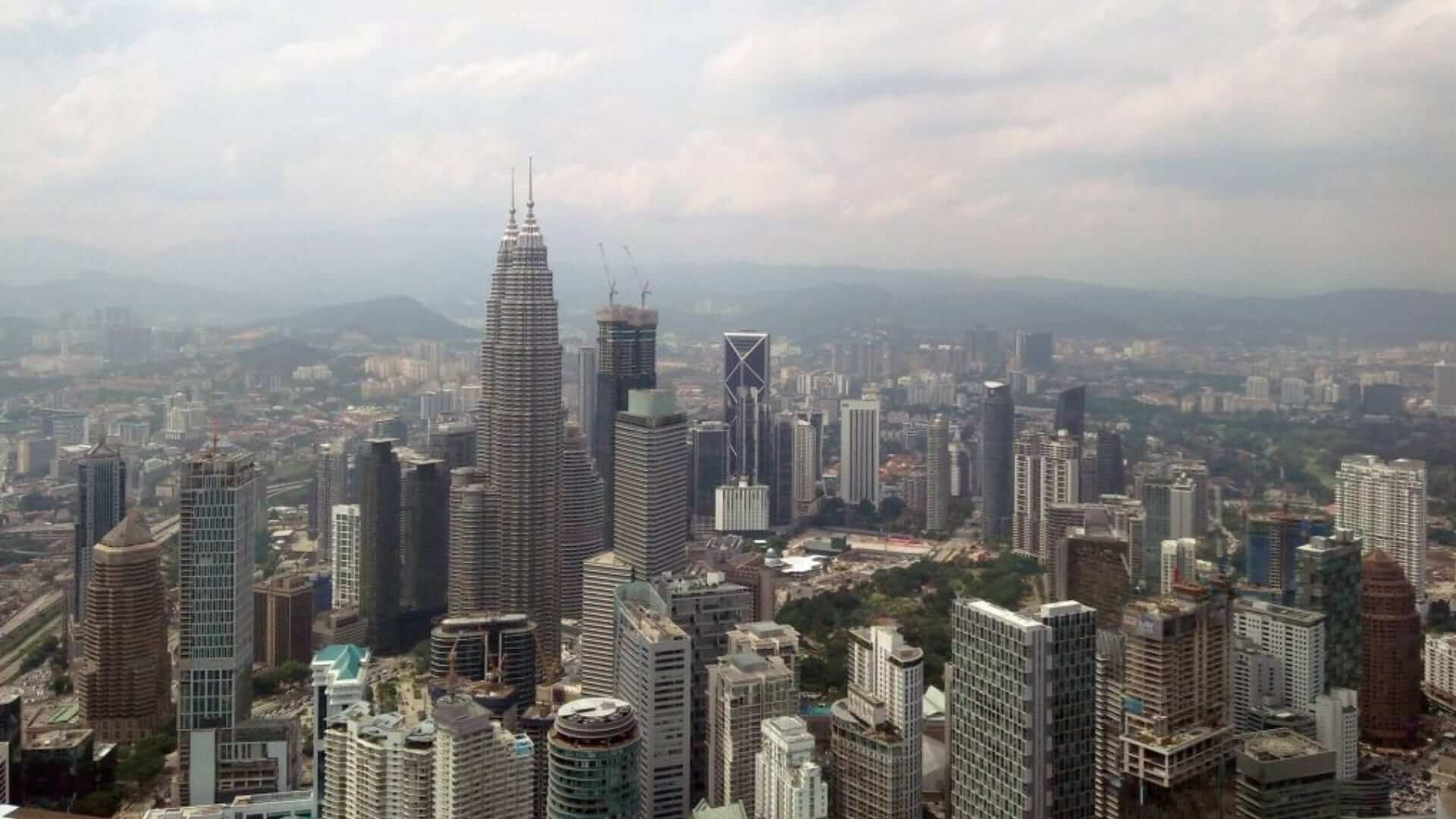 An overview of buildings during daytime in Kuala Lumpur.