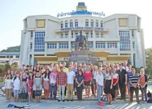 students of prince of songkla university