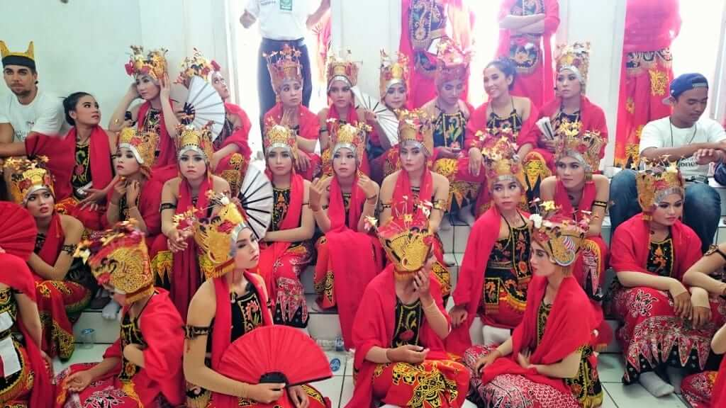 cultural clothes from java indonesia