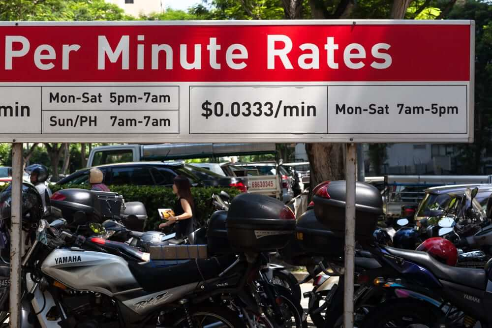 Only need to park for a minute? Sweet - it will only cost you 3 cents.