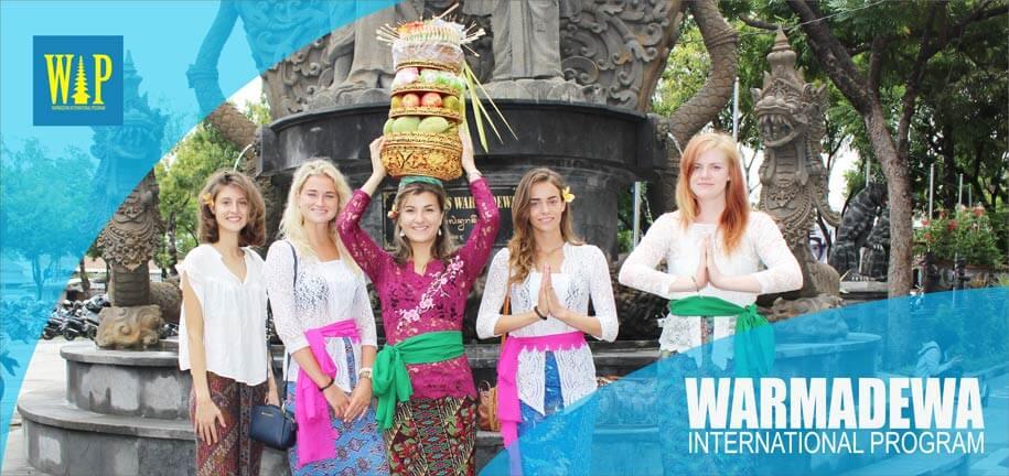 study in bali indonesia - warmadewa international program