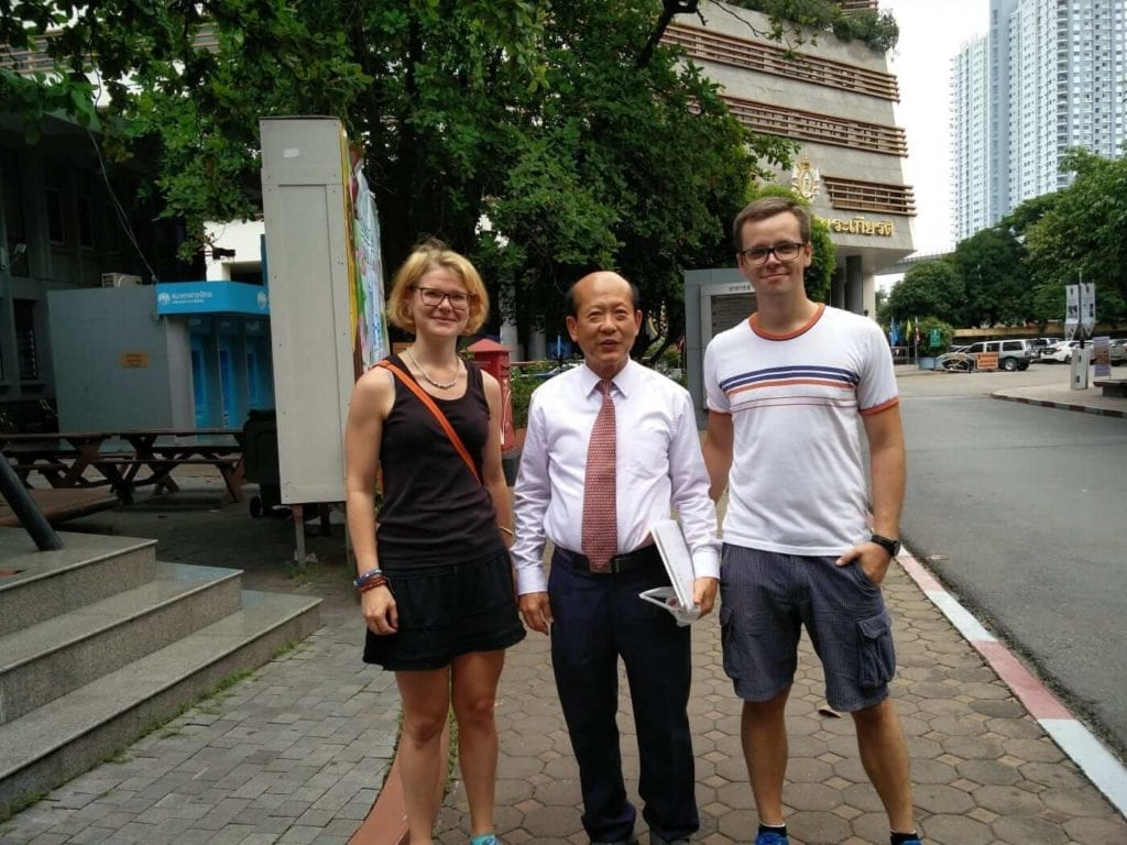 Studying in Siam with Tanja and Paul