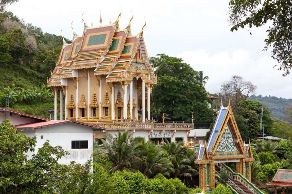 Phuket Khao Rang Temple in Thailand