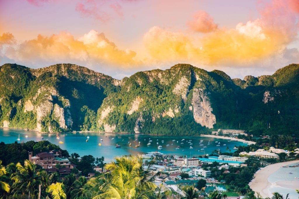 mountain, lake views of phuket