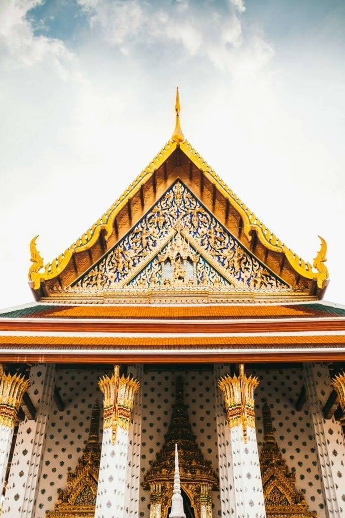 traditional and cultural building in bangkok thailand