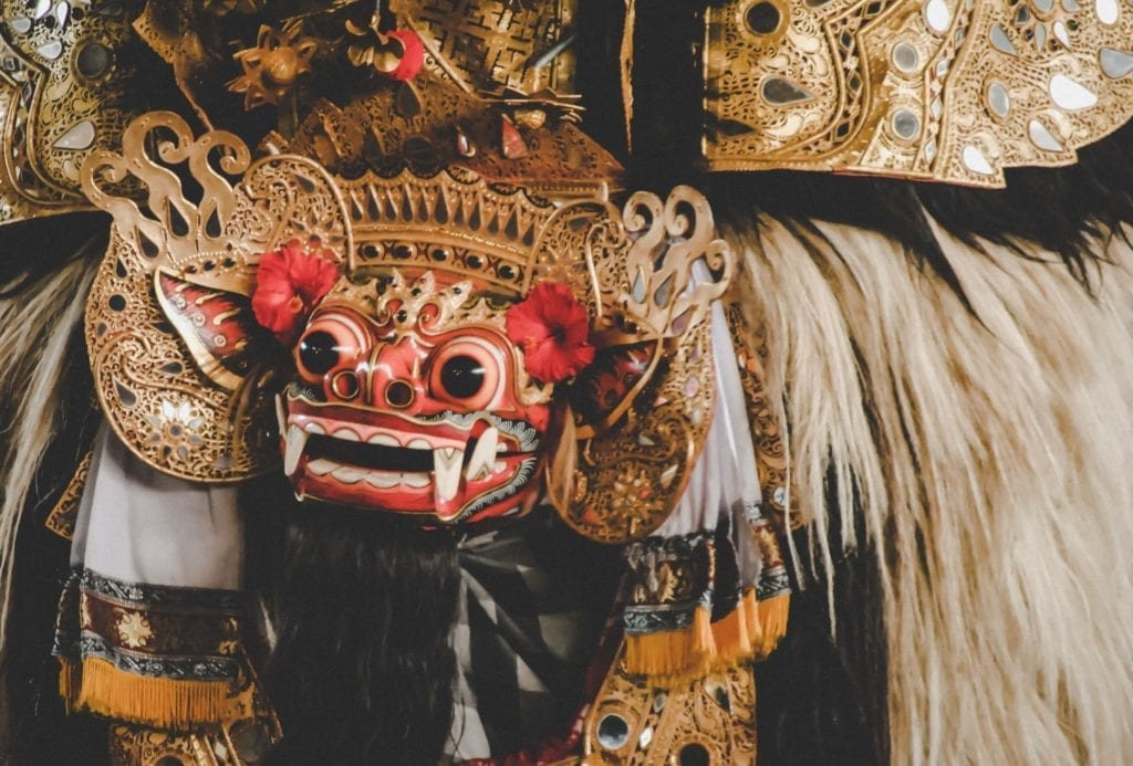 barong statue in bali