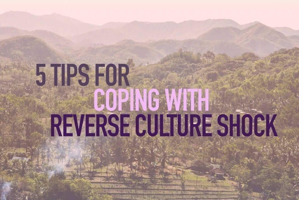 Reverse culture shock - nature - banner