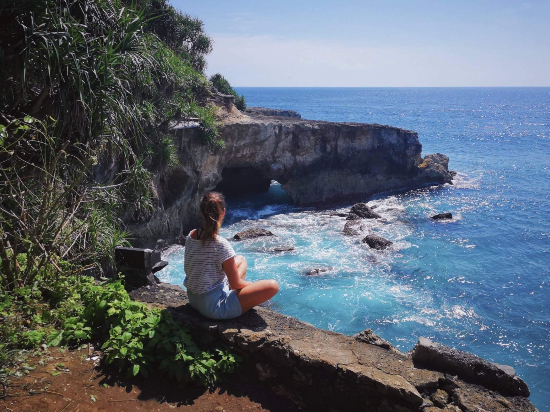 Karoliina Rehnberg in paradise Bali