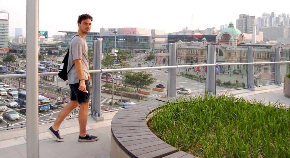 Niklas in Seoul
