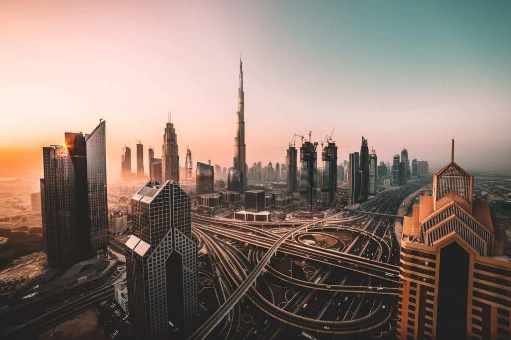 Skyline of a Megacity
