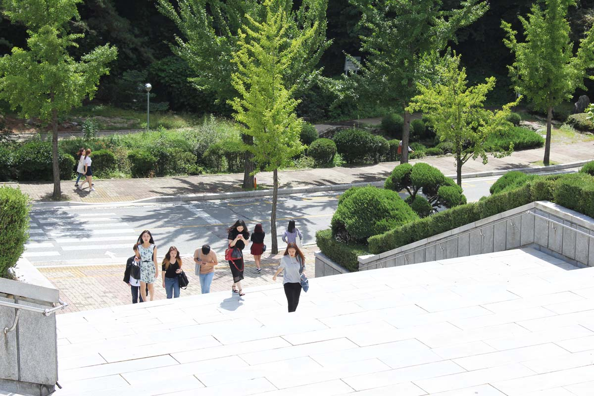 Study in Seoul at Hufs university