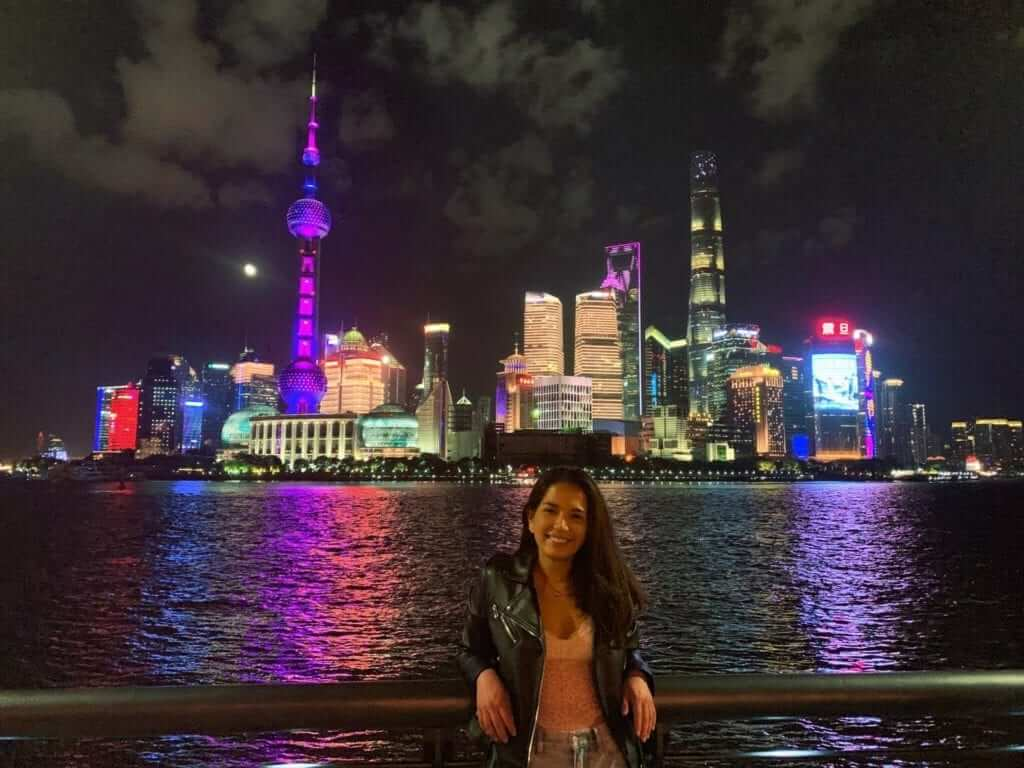 skyline shanghai night