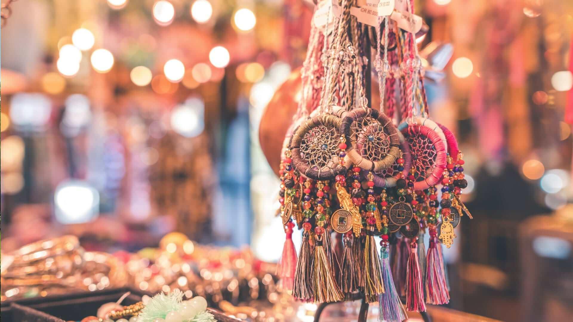 Handmade dreamcatchers and jewellery in Bali.