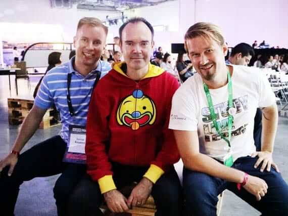 harri and tuomas the ceo of asia exchange