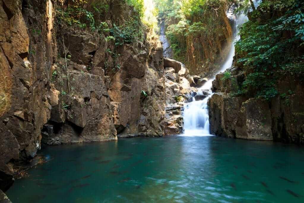 waterfall - scenery - beautiful