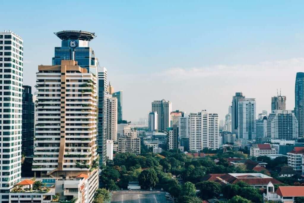 high buildings in Bangkok