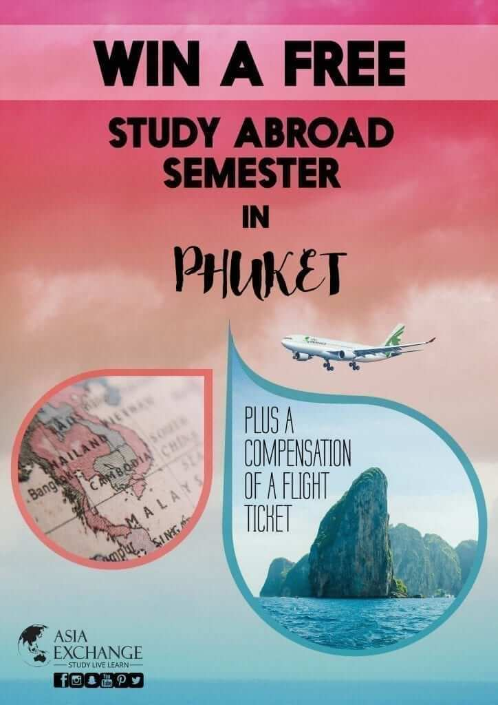 Win a Free Study Abroad Semester in Phuket, Thailand! by Asia Exchange
