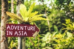 adventure in asia sign