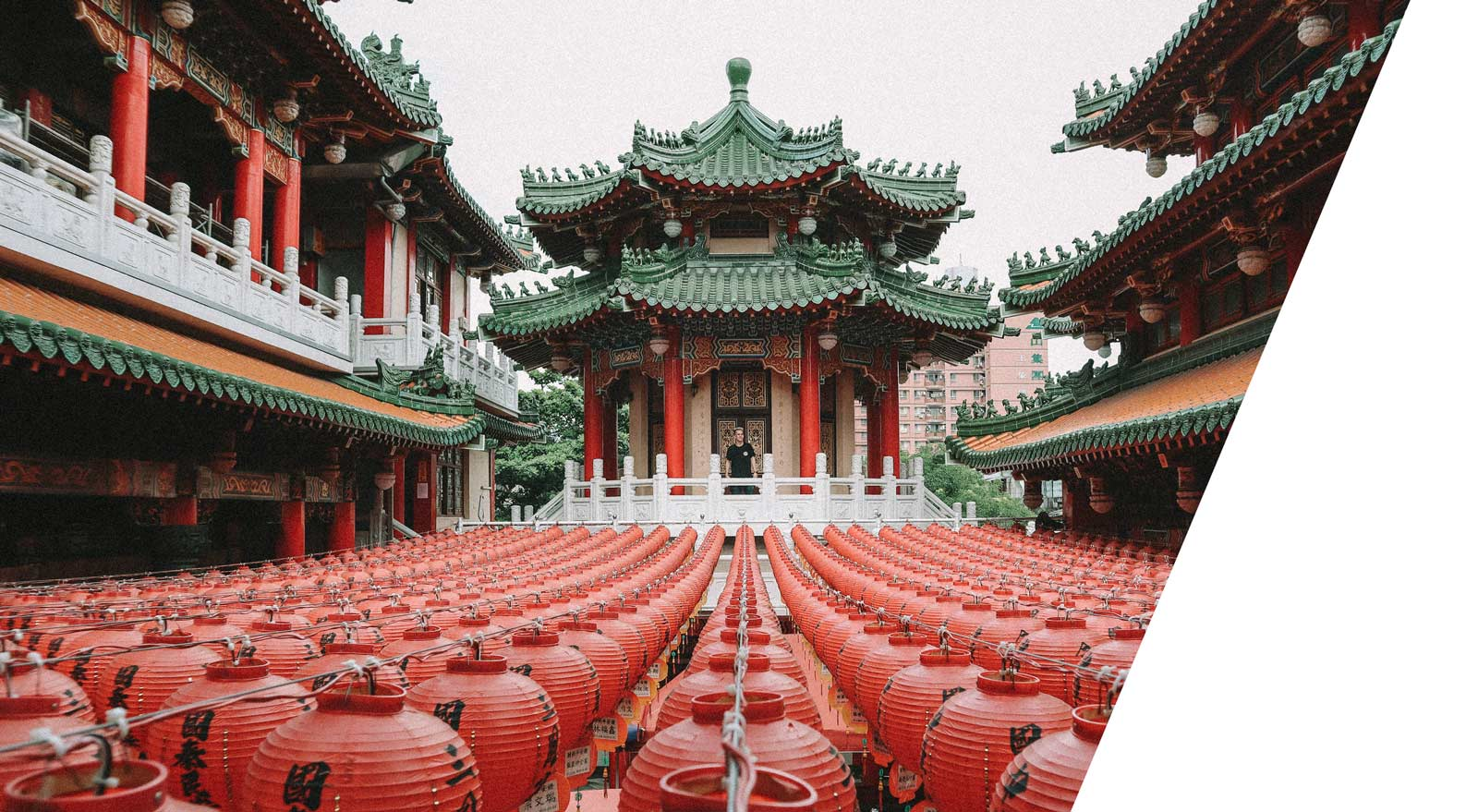 traditional temple in taipei
