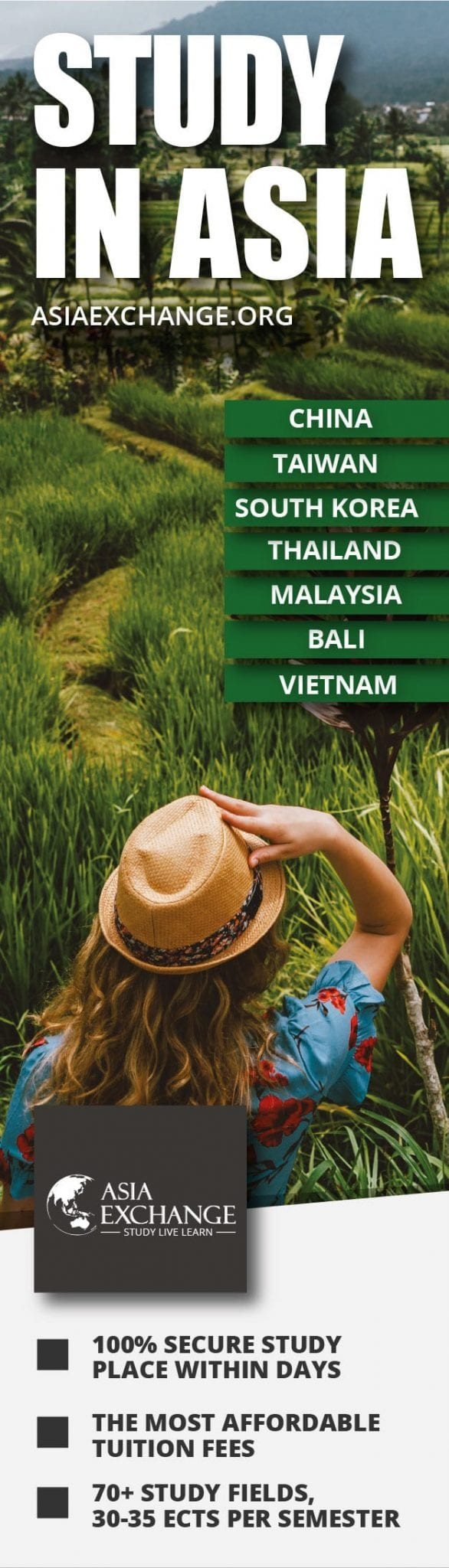 Asia Exchange Study in Asia Banner