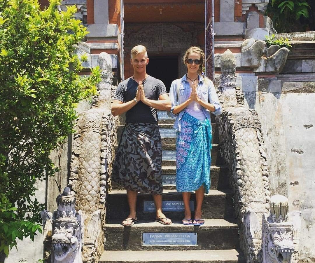 """Alumni Elina and Miika: """"Without the exchange in Bali, we would never have met"""""""