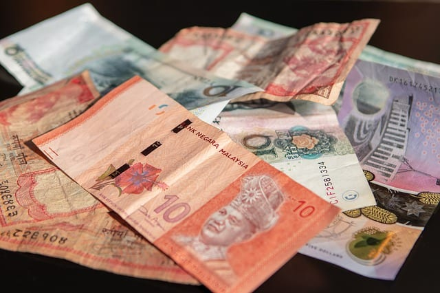 Malaysian currency, ten ringgit notes