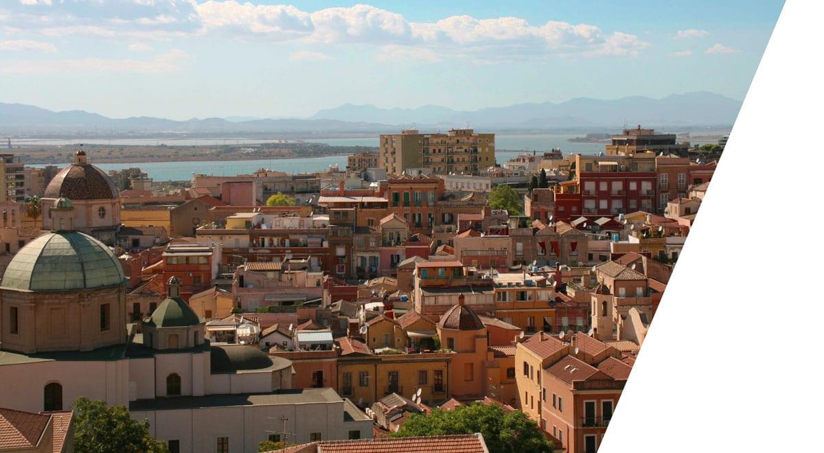 Cagliari city