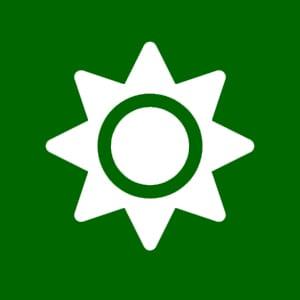sun green icon